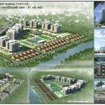Phối cảnh khu đô thị Kim Hoa Mê Linh