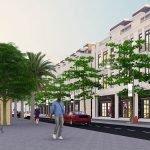 Phối cảnh shophouse dự án Khu đô thị Việt Hàn