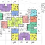 Mặt bằng diện tích chung cư The 5 Degrees