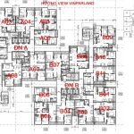 Mặt bằng mô tả hướng View chung cư The 5 Degrees