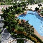 Phối cảnh bể bơi dự án