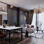 Phối cảnh thiết kế căn hộ Viha Complex