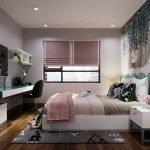 Phối cảnh thiết kế phòng ngủ căn hộ Viha Complex