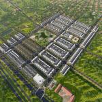Phối cảnh khu đô thị Mạnh Hùng