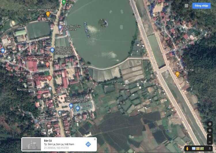 Vị trí khu đô thị Piceza Land Sơn La Riverside