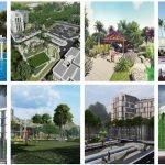 Phối cảnh khu đô thị Spring Town