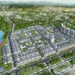 Phối cảnh tổng thể dự án Times Garden Vĩnh Yên