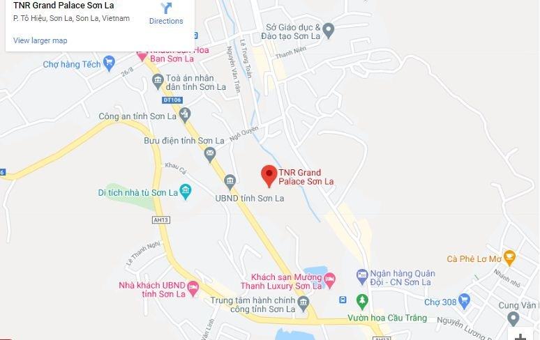 Vị trí dự án TNR Grand Palace Sơn La