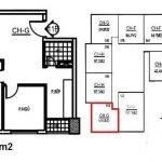 Thiết kế căn hộ 2 phòng ngủ, 2WC diện tích 59m2