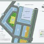 Mặt bằng phân lô dự án Vpit Plaza Vĩnh YÊnchi tiết