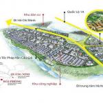 Vị trí dự án Inoha City Phú Xuyên