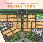 Mặt bằng dự án khu đô thị Inoha Phú Xuyên