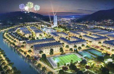 Phối cảnh đêm dự án Piceza Land Sơn La Riverside