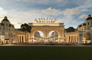 Thiết kế cổng chào dự án Danko City