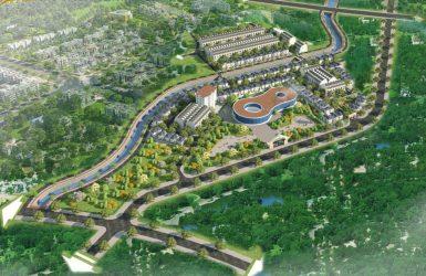 Phối cảnh tổng thể dự án Mỏ Bạch Central Hills