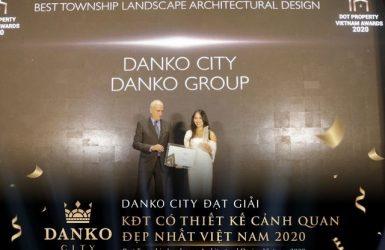 Dự án Danko City Thái Nguyên đã được trao giải KĐT có thiết kế cảnh quan đẹp nhất Việt Nam 2020
