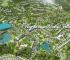 Phối cảnh tổng thể dự án Ivory Villas & Resort Lương Sơn, Hòa Bình