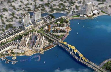 Phối cảnh dự án khu đô thị sinh thái Bắc Đầm Vạc