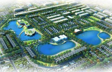 Phối cảnh dự án khu đô thị Nam Vĩnh Yên