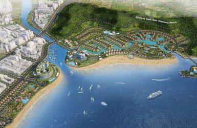 Phối cảnh khu đô thị sinh thái biển Đông Á Sầm Sơn