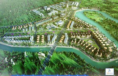 Phối cảnh khu đô thị Xuân Hòa