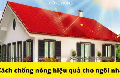 Kinh nghiệm chống nóng cho ngôi nhà