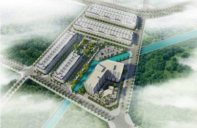 Phối cảnh 2 dự án Korea Town Yên Phong