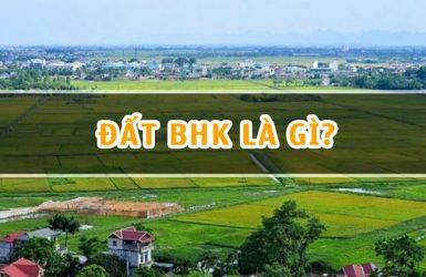 Ký hiệu đất BHK là đất gì?
