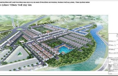 Phối cảnh tổng thể dự án La Emera Hạ Long