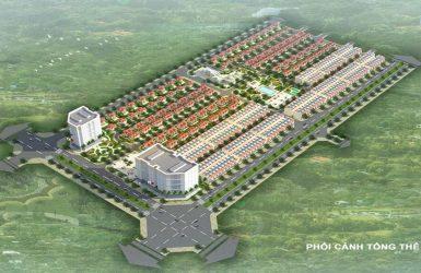 Phối cảnh tổng thể dự án Mê Linh New City