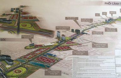 Phối cảnh phê duyệt quy hoạch đường 70 mới