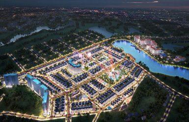 Phối cảnh đêm dự án Times Garden Vĩnh Yên