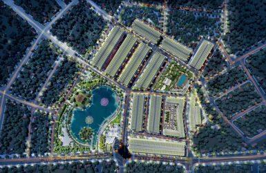 Phối cảnh tổng thể dự án Vĩnh Yên Center City